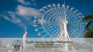Job tiếng việt tại Philippines