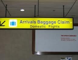 (Biển báo chỉ dẫn khu vực lấy hành lý)