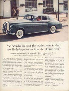 Bài học Marketing từ cách viết tiêu đề của Roll- Royce