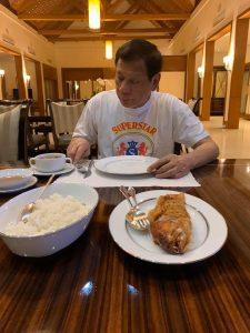 sinh nhật tổng thống philippines: Bị cách ly, điều hành đất nước tại nhà