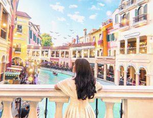 Tham quan khu mua sắm Venice thơ mộng của Philippines