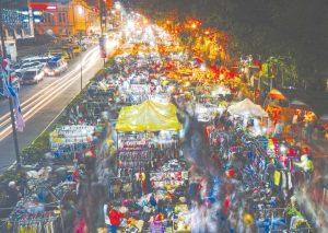 Chợ đêm tại Manila