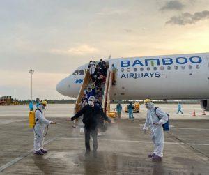 Đón 200 công dân Việt Nam tại Philippines về nước an toàn