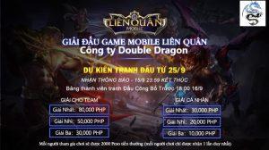Giải vô địch liên quân công ty Double Dragon mừng Tết trung thu.