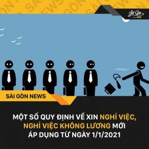 Quy định mới của Bộ Lao Động khi nghỉ việc làm